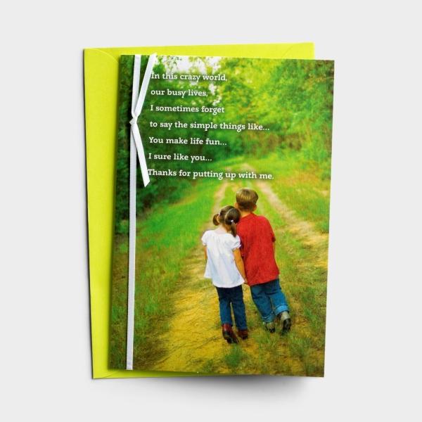 Anniversary - You Make Life Fun - 1 Greeting Card