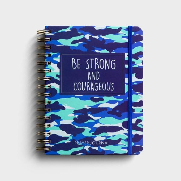 Kids Prayer Journal - Blue Camo