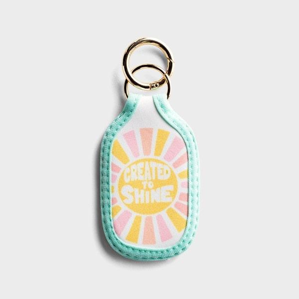 Created To Shine - Bottle Pocket Keyring