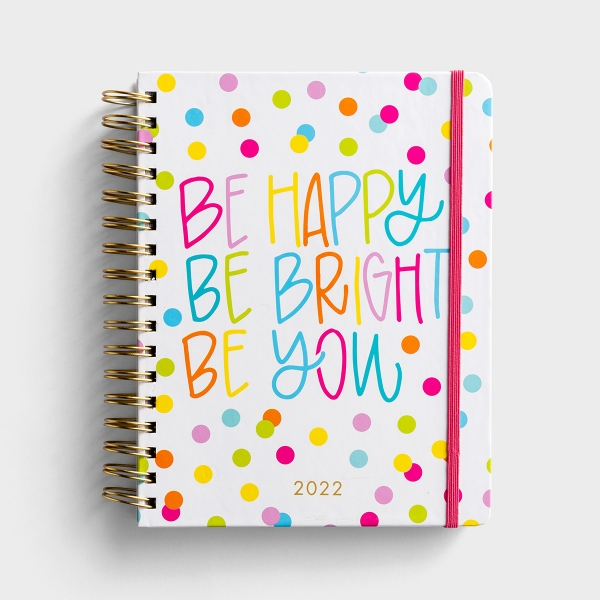 Maghon Taylor - Be Happy Be Bright - 2020-2021 18-Month Agenda Planner