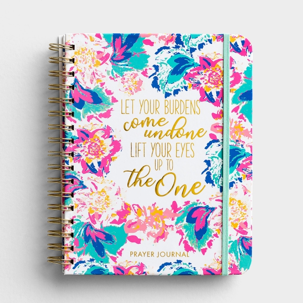Lift Your Eyes - Prayer Journal - Peony Sorbet