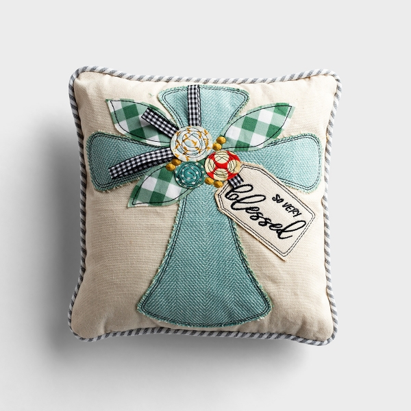 So Very Blessed - Small Throw Pillow