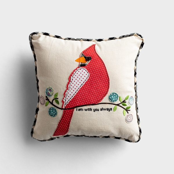 With You Always - Small Throw Pillow