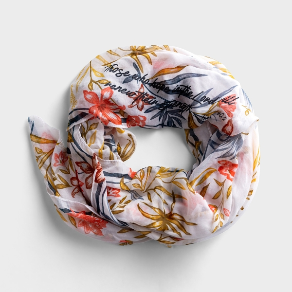 Redefining Strong - Floral Scarf