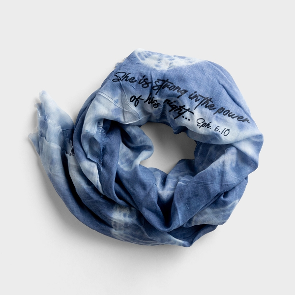 Redefining Strong - Tie Dye Scarf