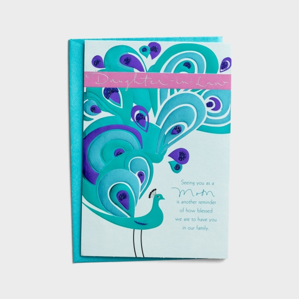 Mother's Day - Daughter-in-Law - 1 Greeting Card