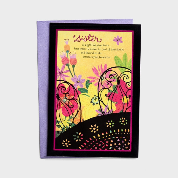 Mother's Day - A Sister Is a Gift - 1 Premium Card
