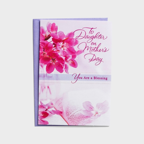 Mother's Day - Daughter - To My Daughter - 1 Greeting Card