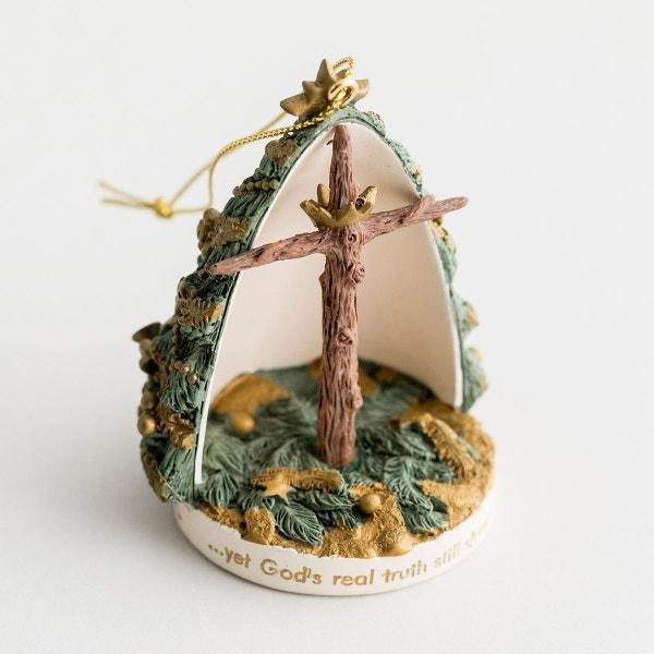 Tree to Cross - Christmas Ornament