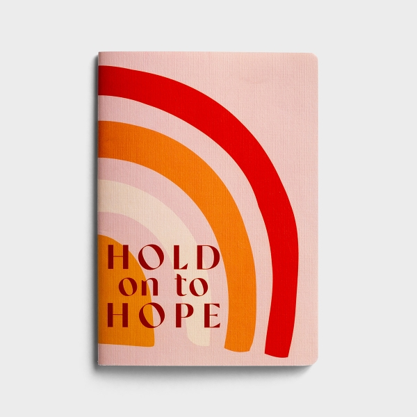 Hold On To Hope - Stitched, Softcover Journal