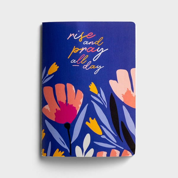 Rise and Pray - Stitched, Softcover Journal