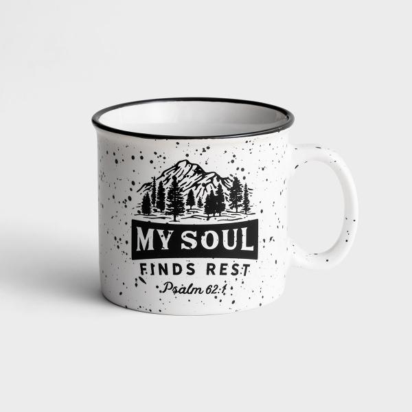 My Soul Finds Rest - Ceramic Campfire Mug