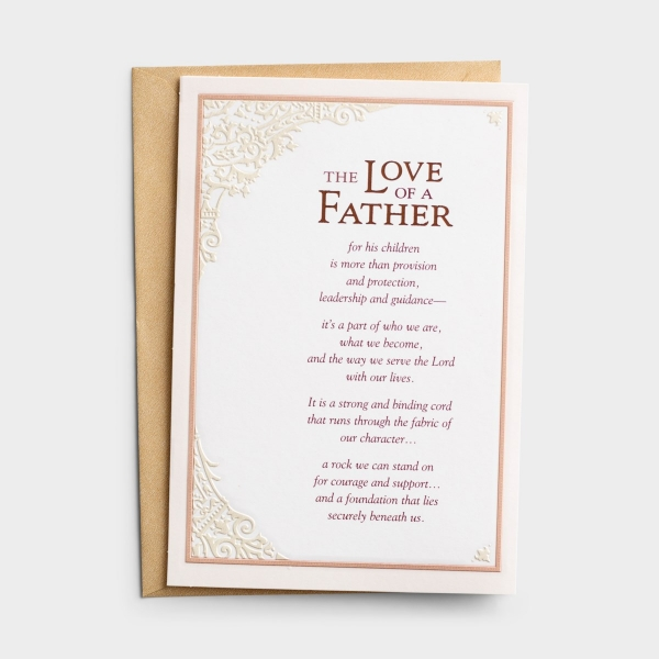 Father's Day - The Love Of A Father - 1 Greeting Card