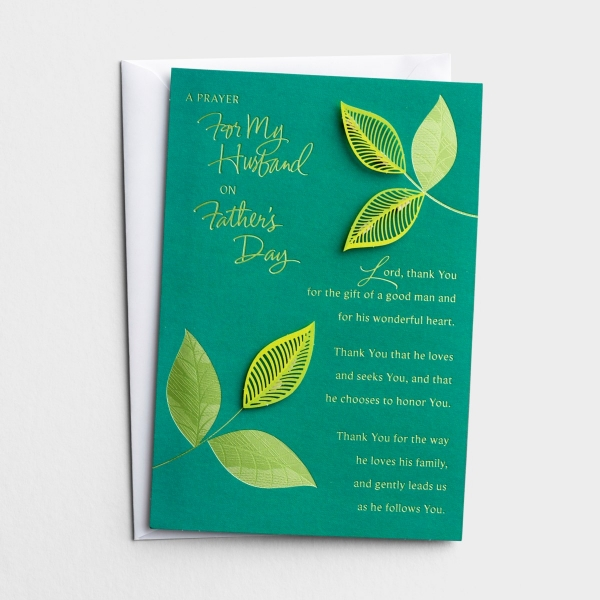 Father's Day - Husband - A Prayer For You - 1 Greeting Card