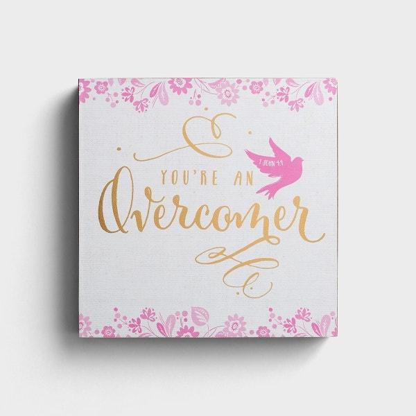 Lyrics for Life - You're an Overcomer - Wall Art