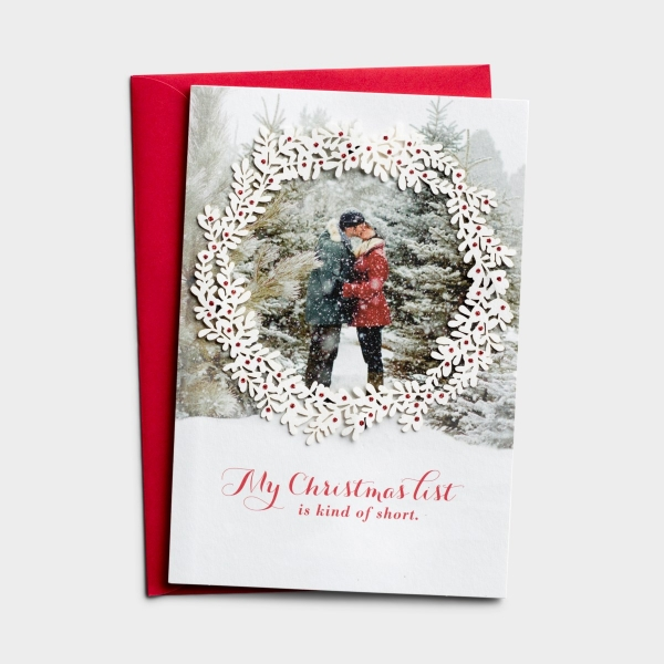 Christmas - One I Love - Christmas List - 1 Premium Card