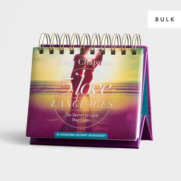 The 5 Love Languages - 24 Perpetual Calendars - Bulk Discount