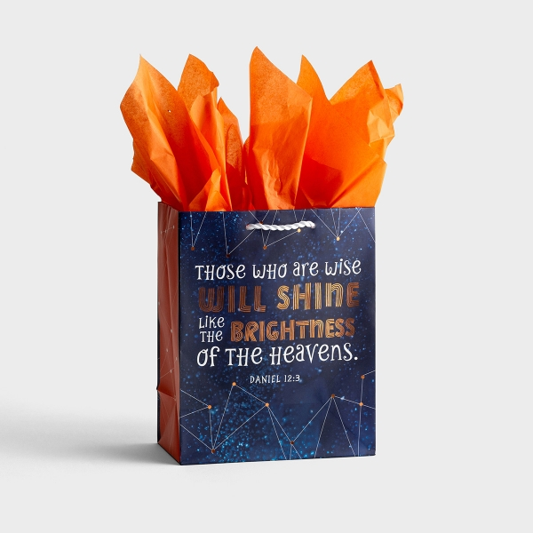 Those Who Are Wise - Medium Gift Bag with Tissue