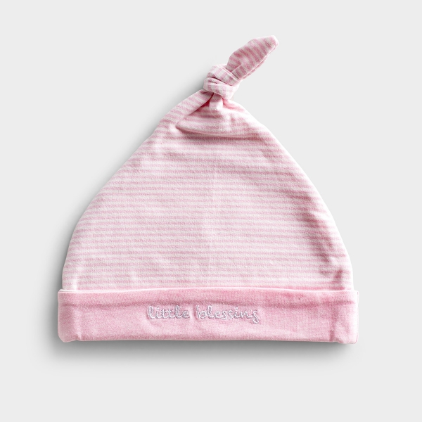 Little Blessing - Pink Striped Cap