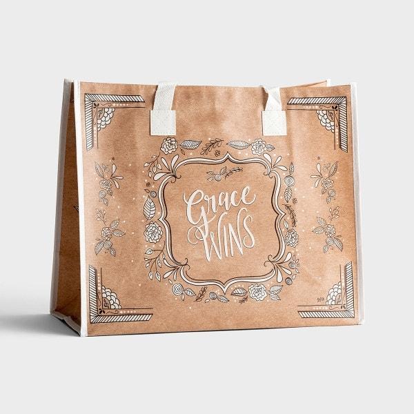 Grace Wins - Tote Bag