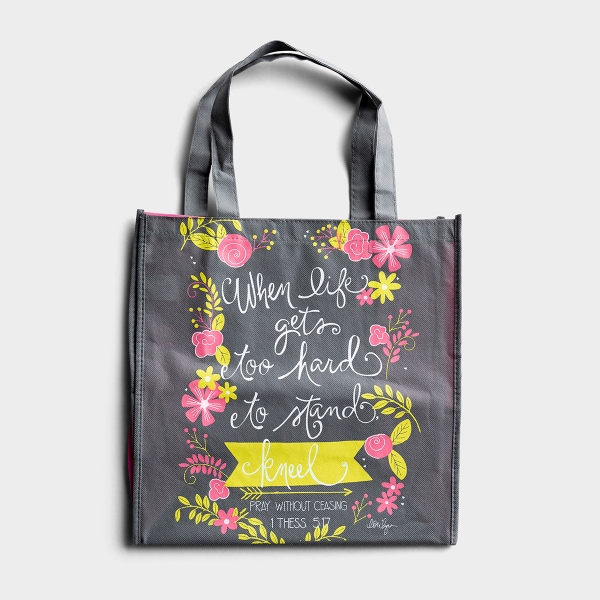 When Life Gets Hard - Tote Bag