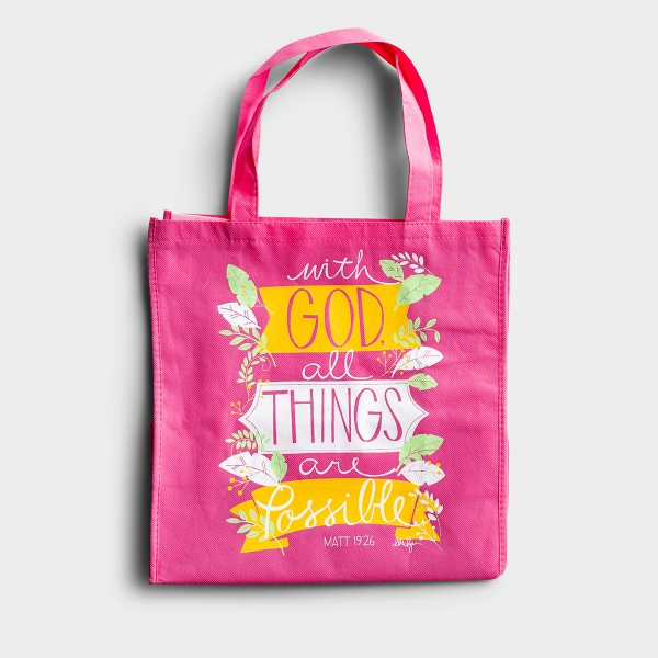 All Things Are Possible - Tote Bag