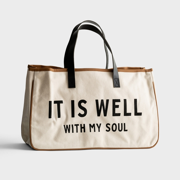 It Is Well - Canvas Tote Bag