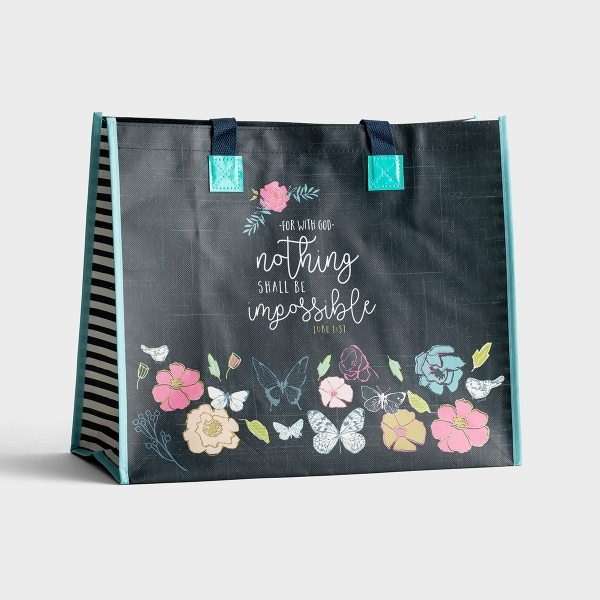 Nothing Shall Be Impossible - Tote Bag