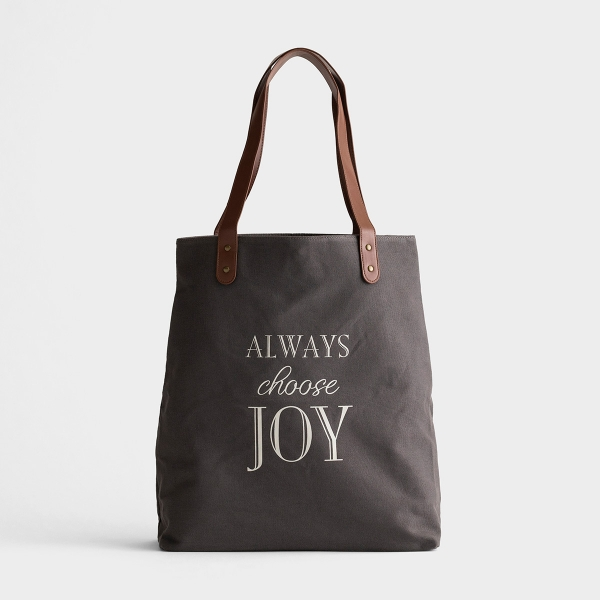 Always Choose Joy - Canvas Tote Bag