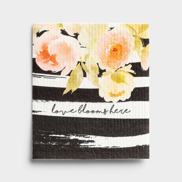 Love Blooms - Organic Dishcloth