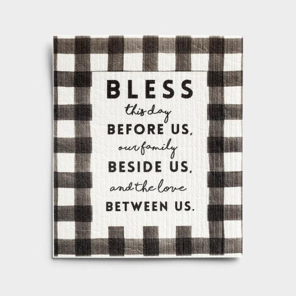 Bless This Day - Organic Dishcloth