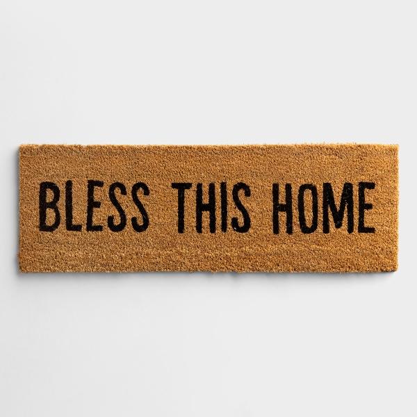 Bless This Home - Coir Doormat