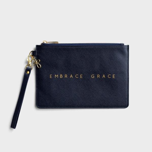 Embrace Grace - Wristlet Pouch