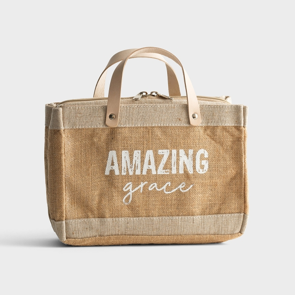 Amazing Grace - Bible Cover Tote