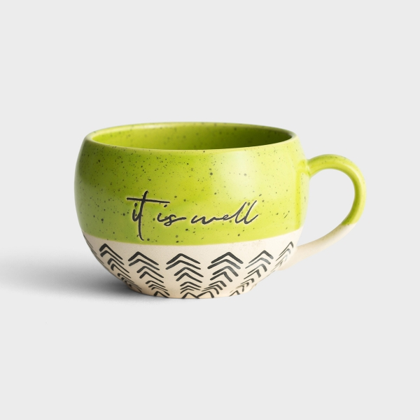 It Is Well - Stoneware Mug
