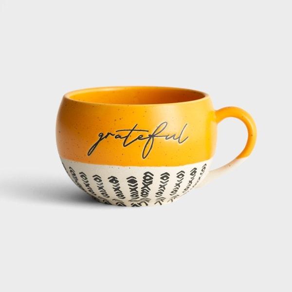 Grateful - Stoneware Mug