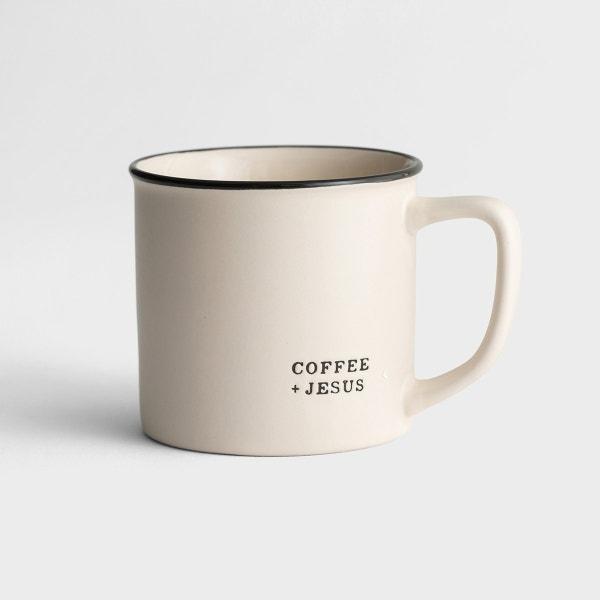 Coffee + Jesus - Ceramic Mug