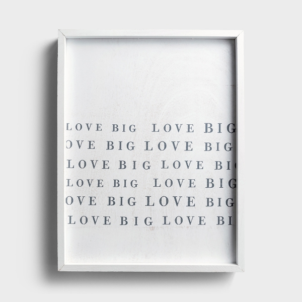 Love Big - Framed Wall Art