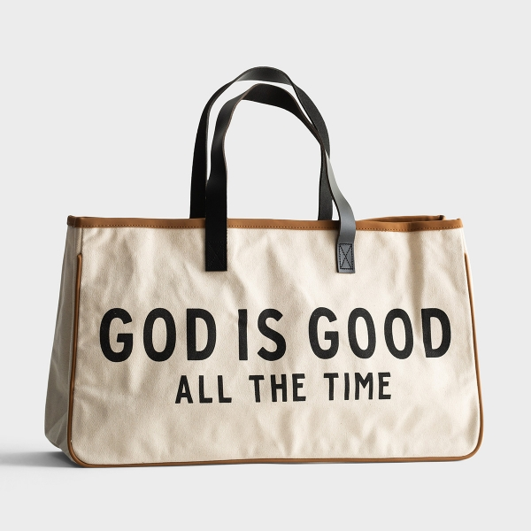 God is Good - Canvas Tote Bag
