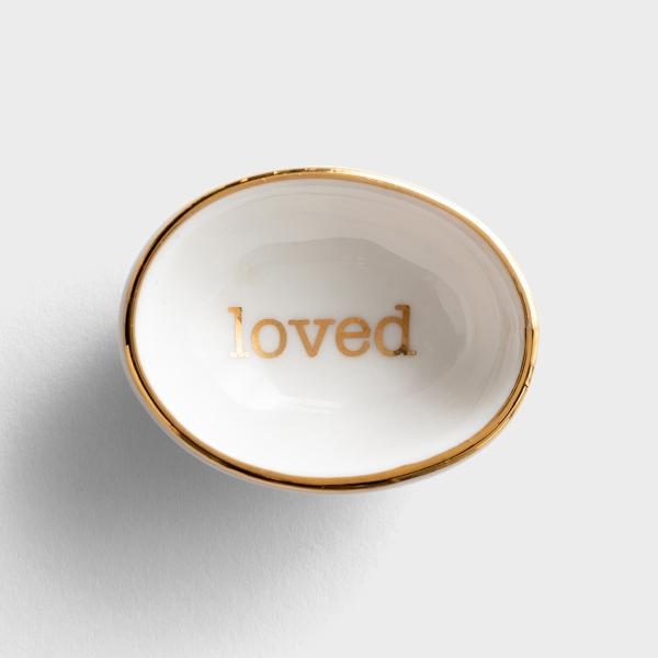 Loved - Ring Dish