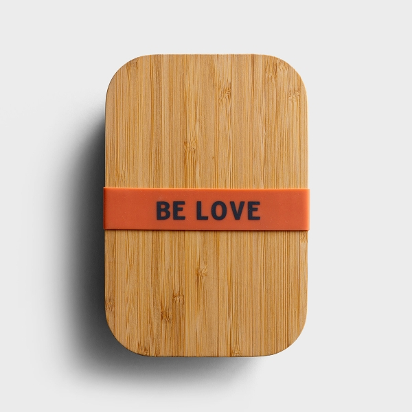 Be Love - Bamboo Lunch Box