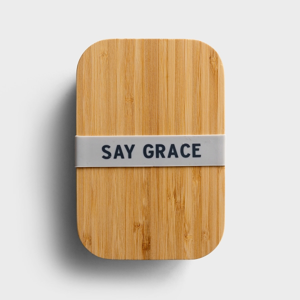 Say Grace - Bamboo Lunch Box