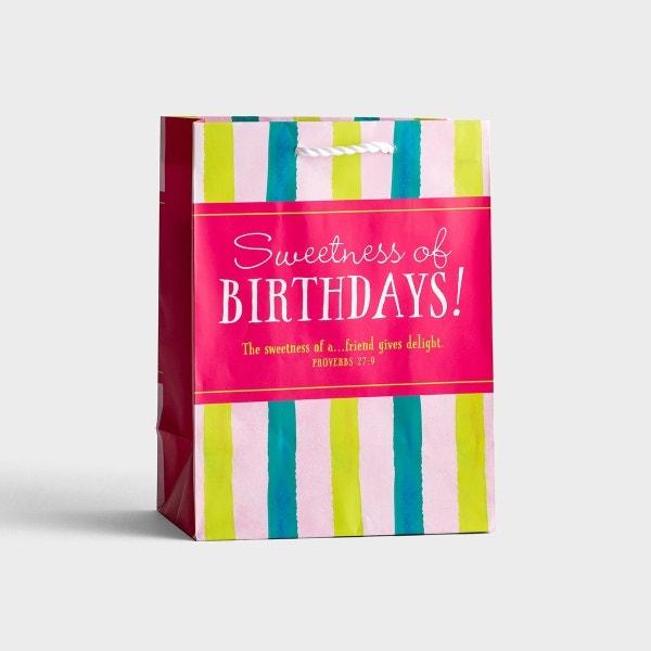 Sweetness of Birthdays - Medium Gift Bag
