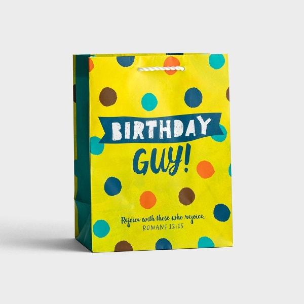 Birthday Guy - Medium Gift Bag