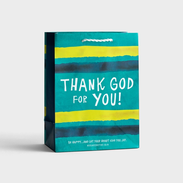 Thank God for You - Medium Gift Bag