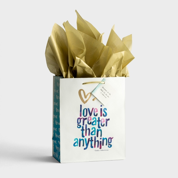 Sadie Robertson - Love Is Greater - Medium Gift Bag with Tissue