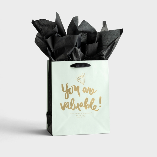 Sadie Robertson - You Are Valuable - Medium Gift Bag with Tissue
