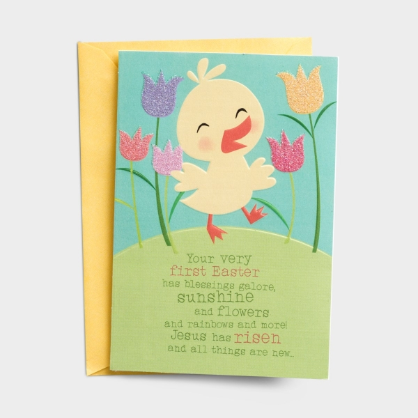 Easter - Baby - First Easter - 1 Greeting Card