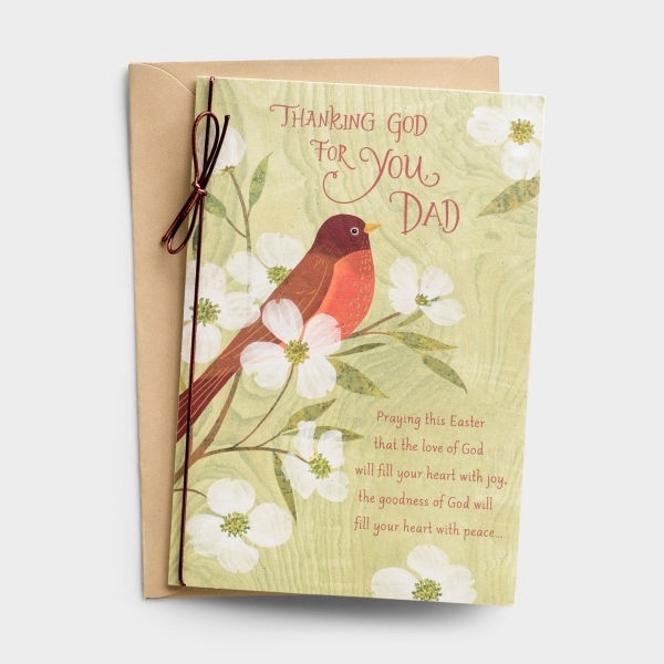 Easter - Dad - Thank God for You - 1 Greeting Card