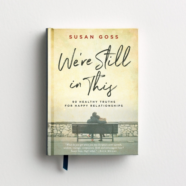 Susan Goss - We're Still In This - Devotional Gift Book